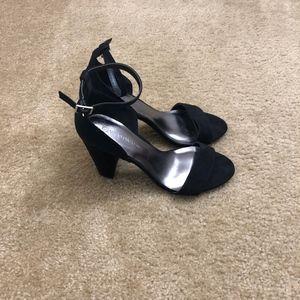 Wild Diva Shoes - Wild Diva Lounes Black High Heel Shoes (8)